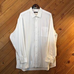 Pierre Cardin Men's Long Sleeve Dress Shirt, XXL